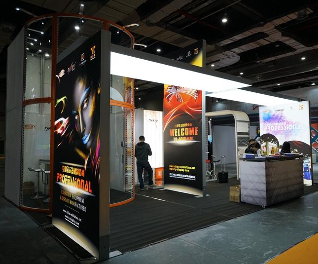6x6展台展示贸易展销便携式上海设计