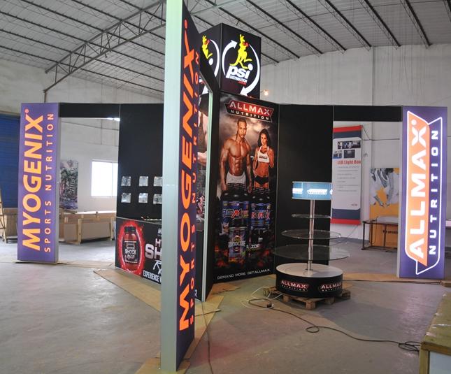 3*3大小的铝博览展台展示博览展位