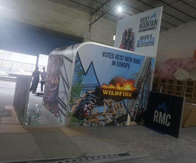 展位3*3贸易展展位展示博览展位免费设计